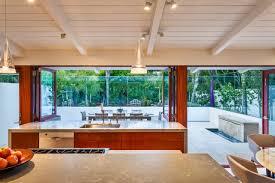 1950s beach bungalow redesigned for modern indoor outdoor living