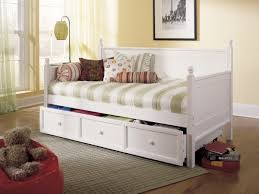 bedroom inspiring bed design ideas with cute pop up trundle