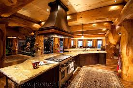 alluring log home kitchen and log homes kitchen dining image