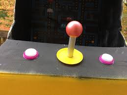 pac man arcade halloween costume from recycled materials