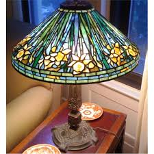 Louis Comfort Tiffany Lamp Louis Comfort Tiffany Daffodil Lamp Leaded Glass And Bronze