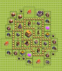 coc village layout level 5 wpid townhall lvl 5 coc1 png 994 1151 clash of clan base layouts