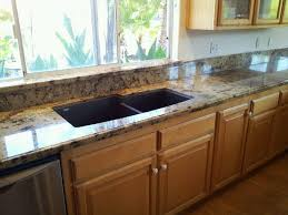 Kitchen Windowsill Kitchen Tips With Golden Crystal Granite Ogee Edge 6
