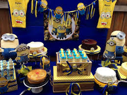 minion baby shower decorations minions baby shower party ideas photo 6 of 12 catch my party