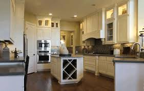 kitchen island with drawers and cabinets dark black wooden floor