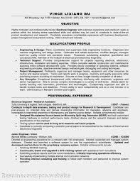 resume objective for entry level engineer job electrical engineer entry level awesome resume exle 38