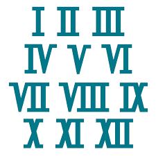 roamn numeral numerals steel rule die accucut craft