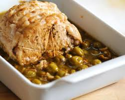cuisiner roti de porc recette rôti de porc aux olives découvrez cette recette de cuisine