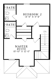small contemporary cottage house plan 2 br 2 baths 1 story small