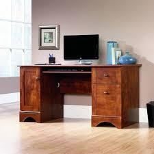 Sauder Kitchen Furniture Sauder Computer Desk Brushed Maple Finish Kitchen