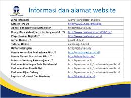 pendaftaran tutorial online ut orientasi studi mahasiswa baru ppt download