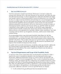 technical feasibility report template technical feasibility report template 4 professional and high