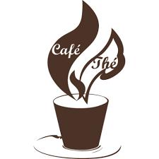 stickers pour la cuisine sticker thé ou café pour la cuisine scan n cut kaffe wallstickers