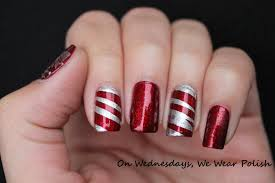 42 holiday christmas nail polish designs nail design ideaz