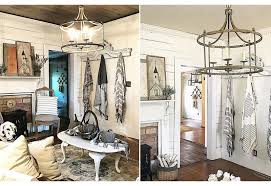 French Wire Chandelier Rustic Chandelier Pendant Light French Farmhouse