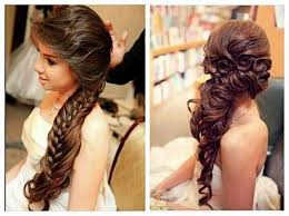 Easy Hairstyles For Medium Straight Hair by Bridal Hair Wedding Day Wedding Hairstyles For Long Hair
