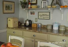 Upcycled Kitchen Cabinets Kitchen Transformation In Millstone Milk Paint General Finishes