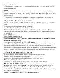 copy editor resume copy editor resume sle writer getstolen