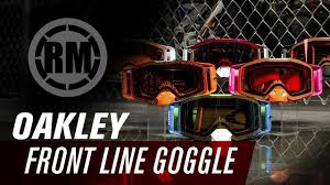 oakley motocross goggles oakley front line motocross goggles youtube