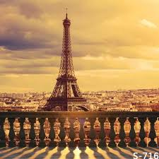 photography background eiffel tower balcony scenic photography background for wedding