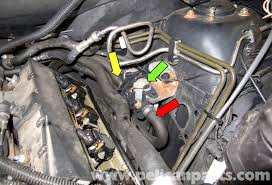 bmw x5 heater valve testing and replacement e53 2000 2006