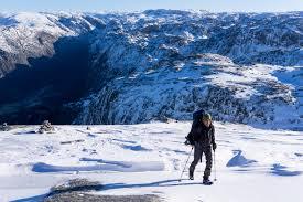 outdoor life 3 day kjerag basecamp winter expedition