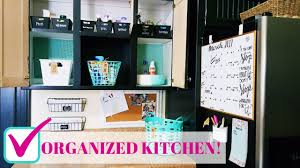diy kitchen organization budget family command center youtube diy kitchen organization budget family command center
