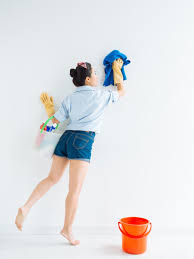 how to clean a popcorn ceiling diy