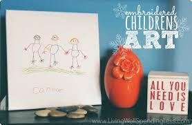 embroidered children s