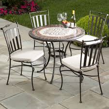 patio chairs wrought iron patio chairs marble mosaic new ideas