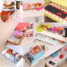 contact paper color dot drawer liner mat kitchen placemat shelf
