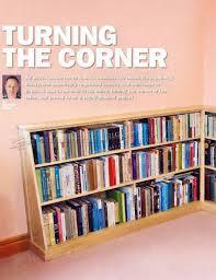 corner bookshelves plans u2022 woodarchivist