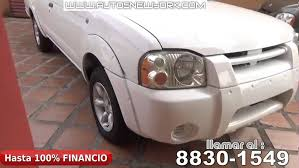 nissan frontier 2001 extracab con caseta manual aros full