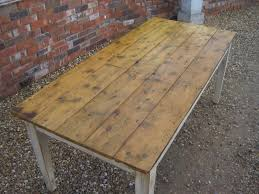 Bespoke Reclaimed Pine Kitchen Or Dining Table - Victorian pine kitchen table