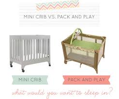 Mini Crib Vs Regular Crib Did You The Differences Between A Mini Crib And A Pack And