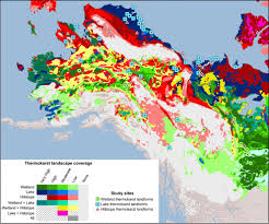 Show Me A Map Of Alaska by New Permafrost Map Shows Areas In Alaska Vulnerable To Thaw