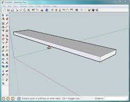 How To Make A Floor Plan In Google Sketchup by 1 Building A Bench Your First Sketchup Model Google Sketchup