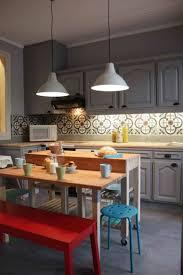 Peinture Rouge Cuisine by Indogate Com Decoration Sol Cuisine