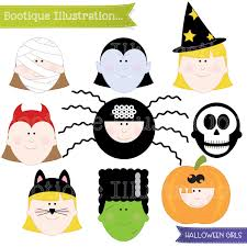 halloween clip art boo tique illustration clipart