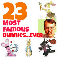 easter 23 most famous and iconic rabbits and bunnies