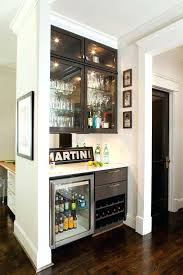 extraordinary wet bar refrigerator contemporary bar with built in