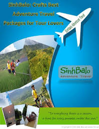 sinh balo crafts best adventure travel packages for tour