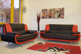 Painting A Leather Sofa Black And Red Leather Sofa Gallery All About Home Design