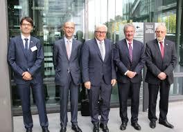 chambre des commerces luxembourg jean asselborn et frank walter steinmeier au 15ème séminaire