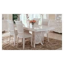 esszimmer weiß esszimmer giulietta weiß perlmutt stilmöbel aus italien arti