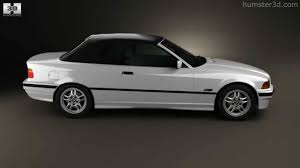 bmw hardtop convertible models bmw 3 series e36 convertible 1994 by 3d model store humster3d