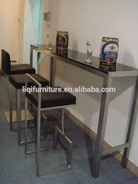 stainless steel bar table stainless steel pub table theltco in bar ideas contemporary high