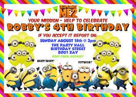 minions birthday invitation maker tags minions birthday