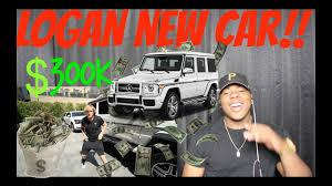 logan paul car logan paul buys 300k mercedes logan paul i bought it reaction