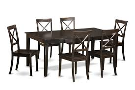 east west henley 7 piece dining set u0026 reviews wayfair